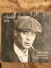 Peaky Blinders Six Beer Mats Tommy, Arthur, John Shelby Plus FREE Delivery