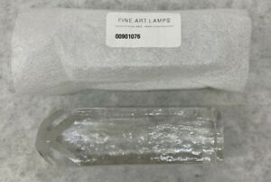 Fine Art Lamps 00901076 Replacement Rock Crystal Glass Pendant - Clear