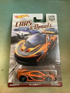 Hot Wheels Car Culture Cars & Donuts McLaren P1!!