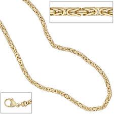 Königskette 585 Gelbgold 3,2 mm 80 cm Gold Kette Halskette Goldkette Karabiner