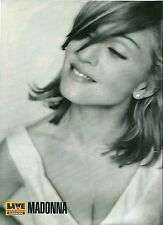 """MADONNA b/w in 1990 magazine PHOTO / Pin Up / Poster 11x8"""""""