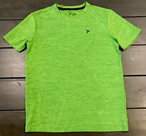 Old Navy Go-Dry Activewear T-Shirt Short Sleeve Youth Size L (10-12) Green