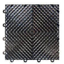 """FlooringInc Vented Nitro Interlocking Garage Floor Tiles 12""""x12"""",52 Pack,52 sqft"""