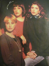Wilson Phillips, The Wonder Years, Double Full Page Vintage Pinup