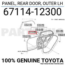 6817433070 Genuine Toyota WEATHERSTRIP ASSY INNER 68174-33070 REAR DOOR GLASS