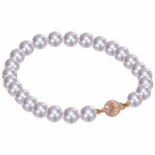 Armbänder mit Perlen-Sets aus Gelbgold für Damen