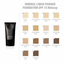 Mineral Liquid Powder Foundation Broad Spectrum SPF15: 3 pack; your choice shade