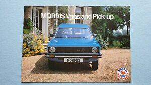 Morris 440 575 van pick-up brochure sales catalogue September 1978 MINT P