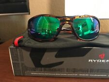 Ryders Cypress Sunglasses Tortise w/Grey Green Mirror Lenses - New