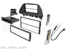 HONDA CAR RADIO STEREO CD PLAYER DASH INSTALL MOUNTING TRIM PANEL KIT & HARNESS