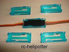 5 x clip di backup per servostecker JR Futaba servosicherung servo