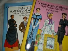 Notable American Women & Famous American Women Paper Dolls Full Color Tierney