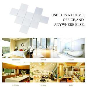 100PCS Home Self Adhesive Mosaic Tile Sticker Decal Kitchen Art Wall Decoration