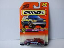 MATCHBOX  voiture CORVETTE T-TOP N°74/75 -1997