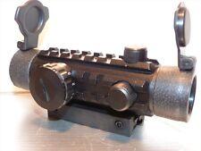 Rifle scope GAMO 1 x 30 Red & Green Dot  moulded Weaver mounts SC 0095