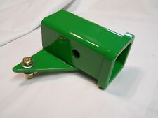 "CUSTOM 2"" Receiver Hitch - Fits John Deere 110-112 Round Fender 1963-67 Green"