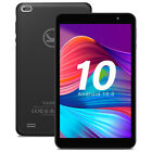 32GB Android 10 Tablet PC Quad Core Dual Camera WiFi Bluetooth Google Play GPS