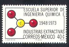 Mexico 1973 Chemistry/Science/Chemical Engineering/Atom/Molecule 1v (n39883)