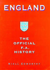 ENGLAND THE OFFICIAL FA HISTORY - READ BUT IN PRISTINE CONDITION