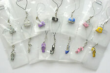 14 Decorative Mobile Phone charms, MP3, iPod charm Party bags, favours.