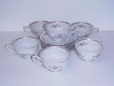 CHODZIEZ POLAND CUPS & SAUCERS SET 6