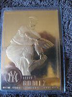 Lefty Gomez Gold Baseball Card CL2-30c