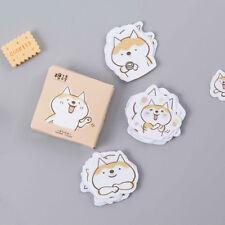 45pcs/lot Cute Dog Diy Diary Stickers Scrapbooking Sticky Stationery Decoration