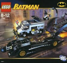 Lego Batman 7781 Two-Face a la fuga sin instrucciones