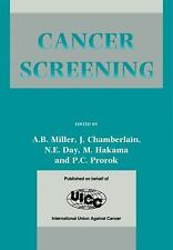 Cancer Screening (2011, Paperback)