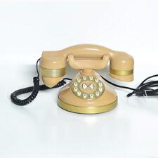 TELEFONO VINTAGE IN BACHELITE COLOR CREMA PERFETTAMENTE FUNZIONANTE ANNI 70