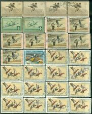 USA : Various Ducks Used. Some with small faults. Catalog $520.00.