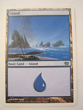 Magic The Gathering Basic Land Island Game Card #336 (011-49)