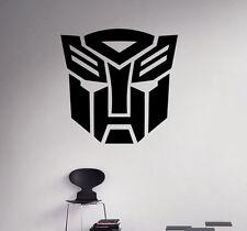 Transformers Wall Vinyl Decal Optimus Prime Vinyl Stickers Home Art Interior 1