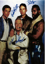 Stock 3 dvd Photo Print Autographed autograph signed Images The A team