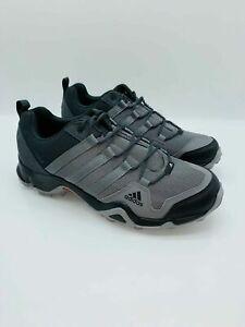 adidas outdoor Men Terrex AX2R Trail Shoe Carbon / Grey Four / Solar Slime