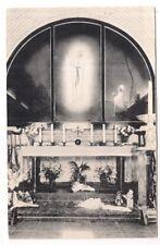 banneux n.d , tryptique de la chapelle des apparitions