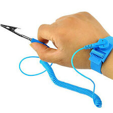 Anti Static Wrist Strap Wristband Computer Repair Prevention ESD Discharge Band