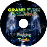 GRAND FUNK RAILROAD GUITAR BACKING TRACKS CD BEST GREATEST HITS MUSIC PLAY ALONG