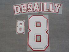 Flocage DESAILLY pour maillot équipe de France bleu 1998 patch shirt
