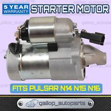 Fits Nissan Pulsar Starter Motor N14 N15 N16 1.6L GA16DE 1.8L QG18DE 1991-2005