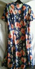 Debenhams multi floral button down dress size 12