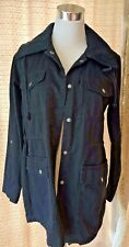 HURLEY WOMENS JACKET CARGO ARMY BLACK SIZE SMALL