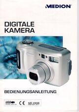 MEDION - Bedienungsanleitung für Digitale Kamera - auf Deutsch - B3640