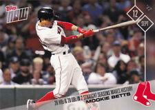 Mookie Betts 20 HR 20 SB 2 Straight Years Red Sox Record 2017 Topps NOW 591