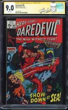 DAREDEVIL #60 CGC 9.0 WHITE SS STAN LEE SIGNED 2ND HIGHEST GRADED 1227702015