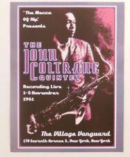 John Coltrane Concert 18X24 CLASSIC JAZZ MUSIC ART VINTAGE POSTER