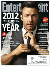 Entertainment Weekly December 7 2012 Ben Affleck Entertainers of the Year