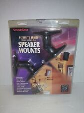 Sound Gear Satellite Series Speaker Mounts (2 pack) Holds up to 8 lbs NIB