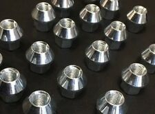 16 X Alloy Wheel Nuts M12 1.5 17mm Hex Open Nut Ford Tapered Seat