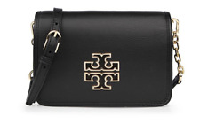 Tory Burch Britten Combo Cross body Black 31159880 with Free Gift & Tracking Num